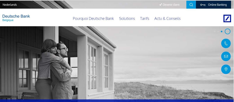 deutsche bank Belgique