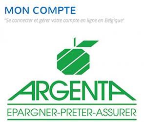 argenta banque belge par internet