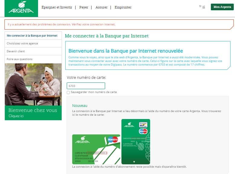 connexion mon argenta banque en ligne