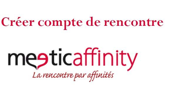 créer compte meetic affinity belgique