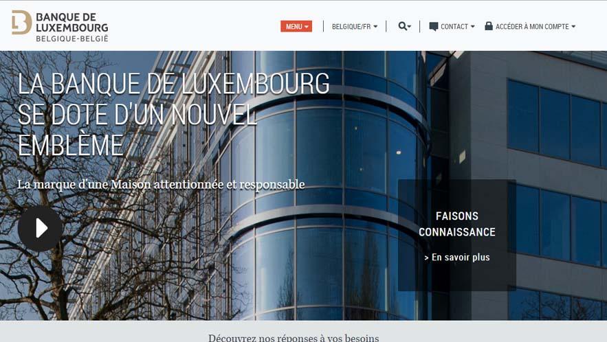 accès compte banque du luxembourg