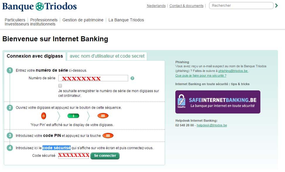 banque triodos banking en ligne