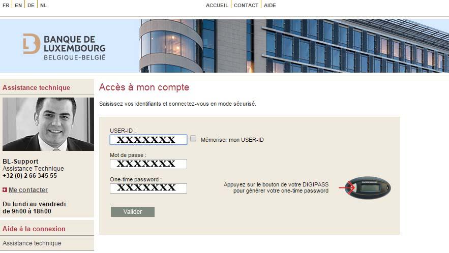 compte banque de luxembourg belgique