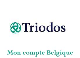 mon compte triodos Belgique