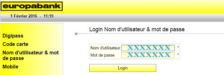 europabank online