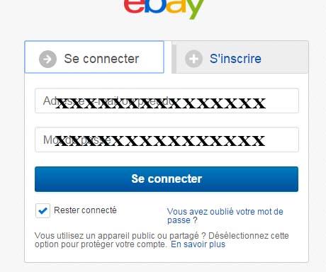 connexion compte ebay belgique
