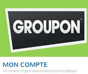 créer compte groupon Belgique