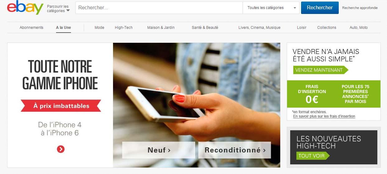 vente sur ebay belgique