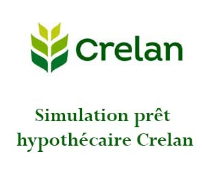 Simulation prêt logement Crelan