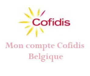 mon compte cofidis Belgique