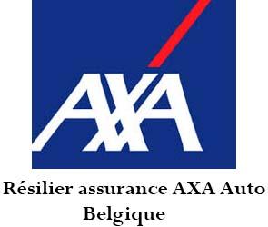 résilier assurance axa auto belgique