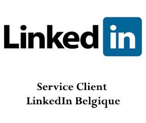 contact support LinkedIn Belgique