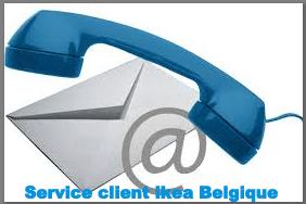 contact service client ikea Belgique