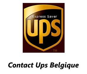 Contact Ups Belgique