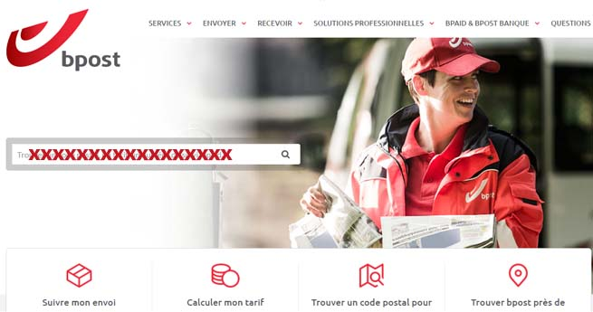 contact bpost belgique