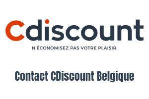 Contacter Cdiscount Belgique