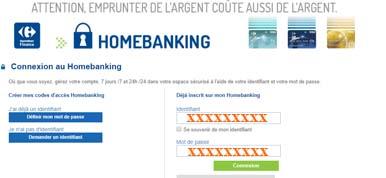 Carrefour Finance mon compte