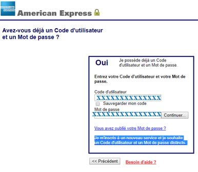 compte american express.be