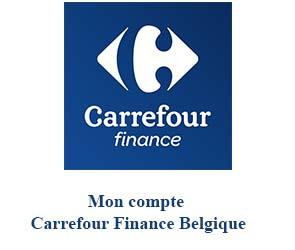 mon compte carrefour finance Belgique