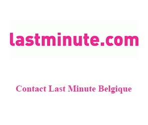 contact last minute Belgique