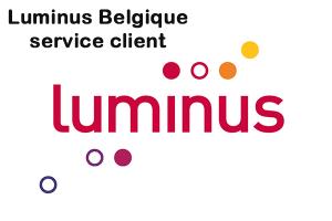 contacter Luminus Belgique service client