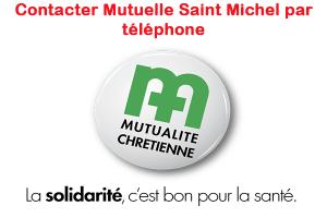 Contacter Mutuelle Saint Michel par téléphone
