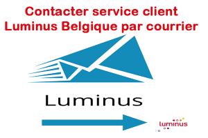 Contacter Luminus Belgique par courrier :