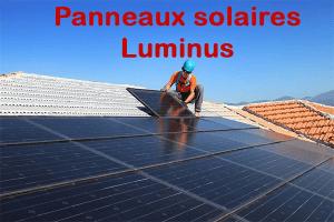 Luminus panneaux solaires