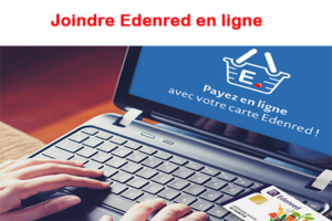Joindre Edenred en ligne