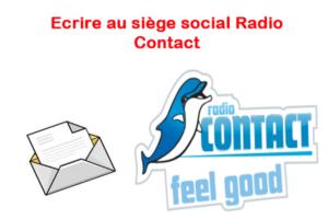 Ecrire au Radio Contact par voie postale