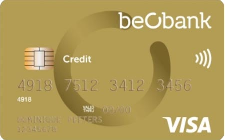 Beobank Visa Online
