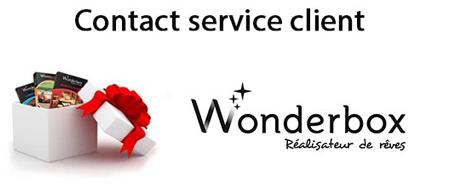 Wonderbox telephone gratuit Belgique