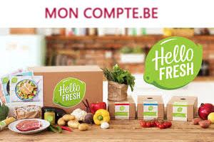 HelloFresh connexion à mon compte belgique en ligne