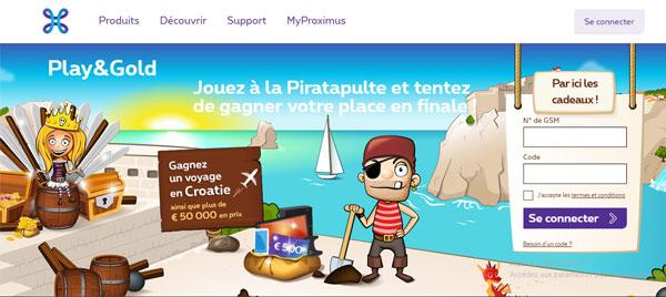 Play and Gold mon compte belgique en ligne