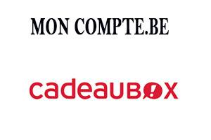 cadeaubox.be mon compte belgique en ligne