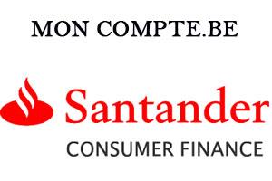santander consumer finance mon compte belgique en ligne