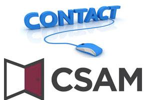 Contact service client CSAM