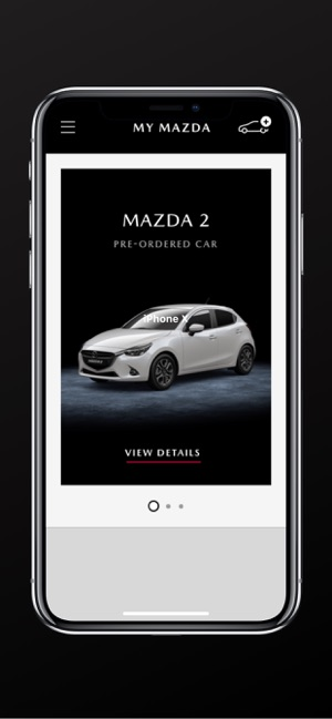 Application mobile My Mazda