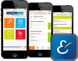 Application mobile my partenamut