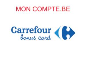 Inscription et connexion à mon compte Carrefour Bonus Card en ligne