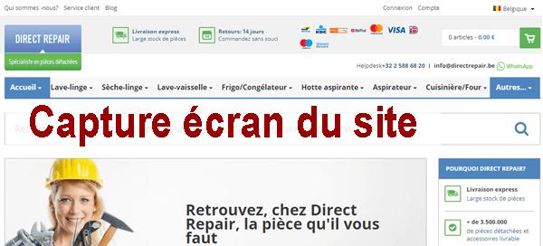 Connexion à mon espace client Direct Repair ?