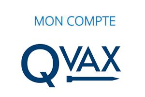 Inscription et connexion à mon compte Qvax en ligne